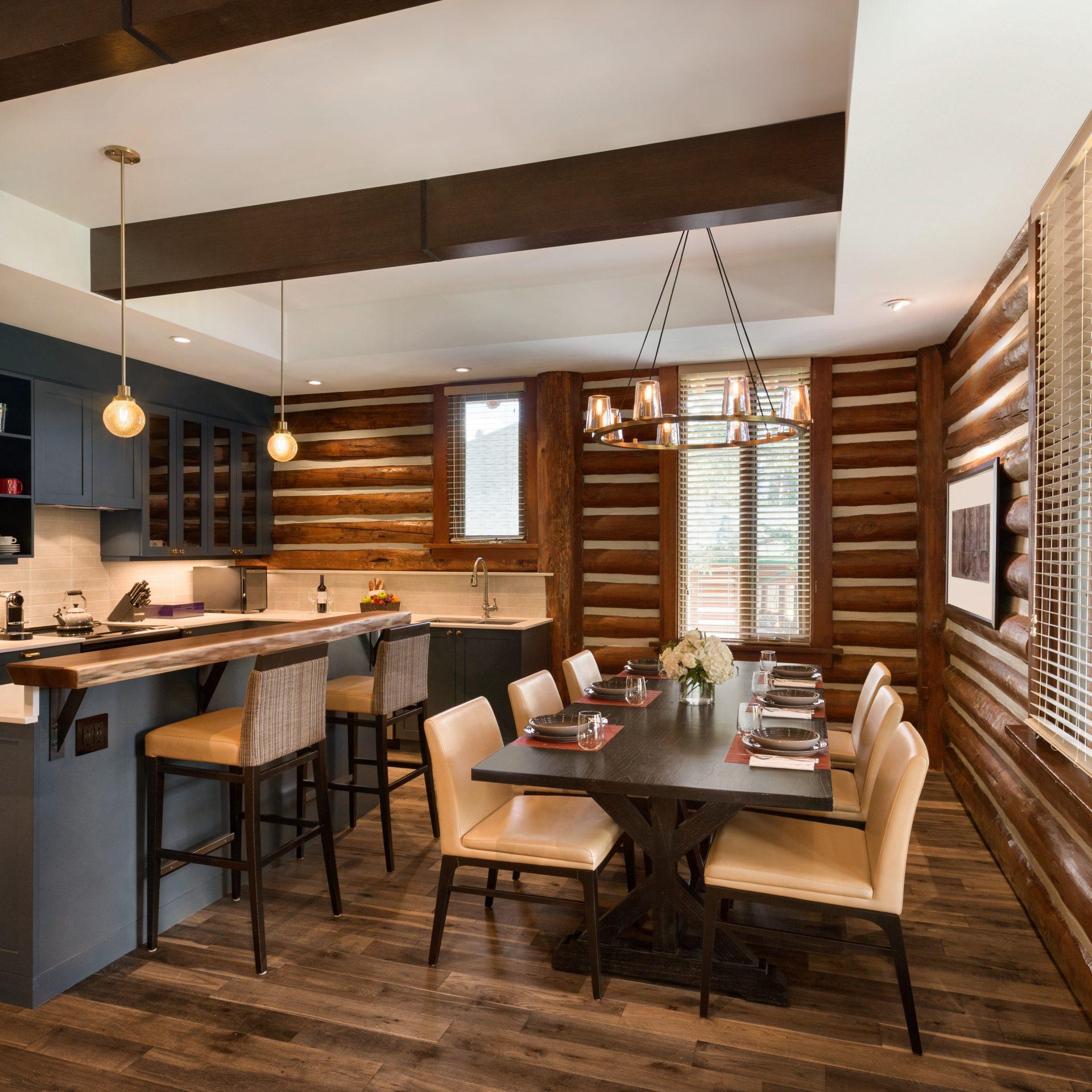 Ridgeline Cabin Kitchen