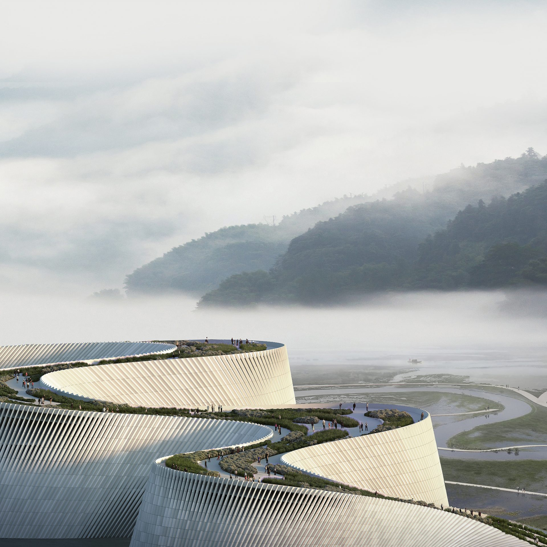 1376 Shenzhen Natural History Museum_View 02_Aerial 02
